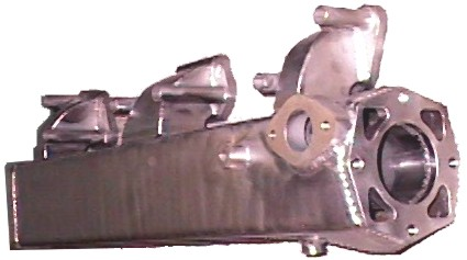 Water Cooled Stainless Steel Manifold Marine Exhaust